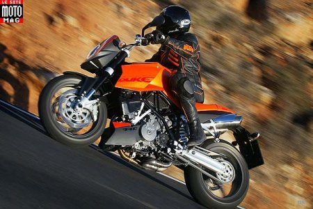 KTM 990 Super Duke : partie cycle