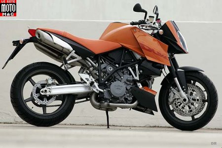 KTM 990 Super Duke : ligne