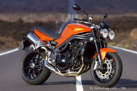 Triumph Speed Triple : Blazing Orange