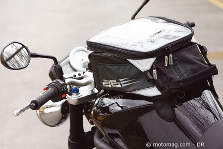 Triumph Speed Triple 1050 : réservoir