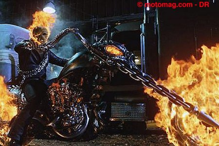 DVD Ghost Rider : le motard du diable