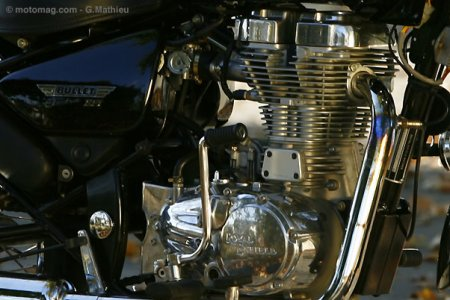 Royal Enfield 500 Electra EFI : kick