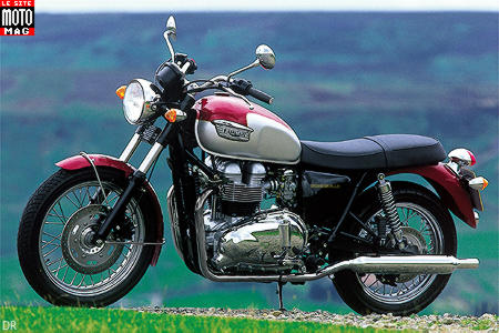 triumph 800 bonneville moto magazine leader de l actualit de la moto et du motard. Black Bedroom Furniture Sets. Home Design Ideas