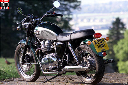 Triumph 800 Bonneville : options coûteuses