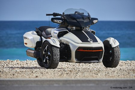 Can-Am Spyder F3T : ligne sportive