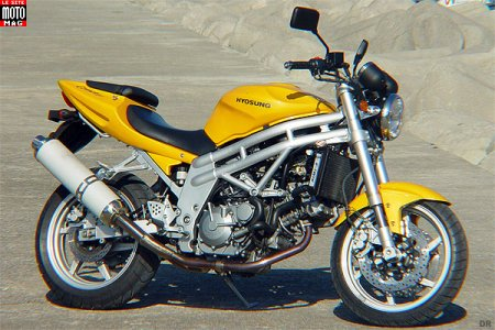Hyosung 650 Comet : finition