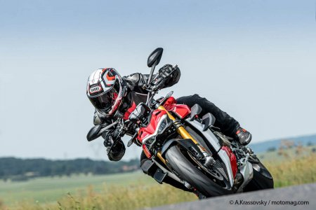 Ducati Streetfighter V4S (2020) ailerons dynamiques
