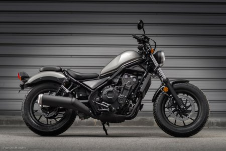 Honda CMX 500 Rebel : inspiration Vultus