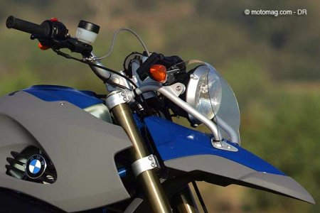 BMW R 1200 GS HP2 : phare