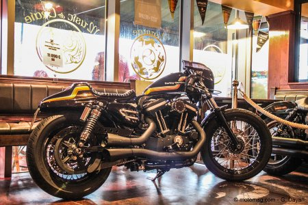 Iron bikers tour de chauffe : Sportster