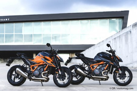 KTM 1290 super duke R 2020 statique noir orange roadster