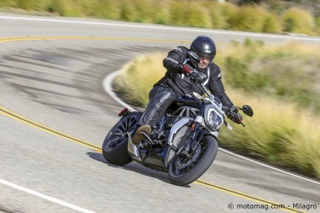 Ducati XDiavel S : muscler sa conduite