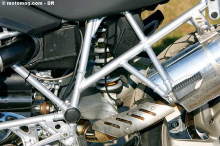 BMW R 1200 GS : ESA en option