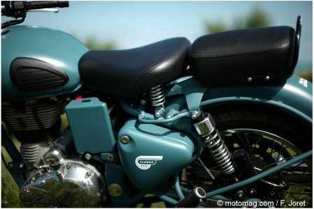 Royal Enfield 500 Bullet Classic : Selle