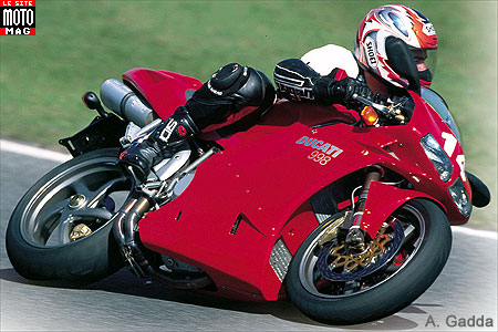 Ducati 998 Superbike : full power