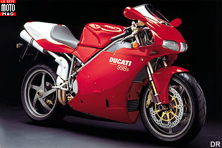 Ducati 998 Superbike : carénage