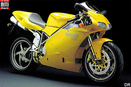 Ducati 998 Superbike : partie-cycle