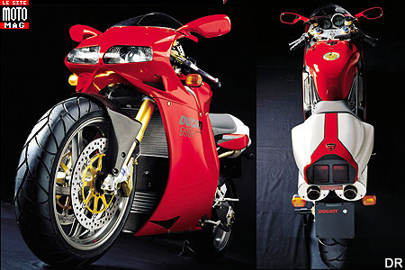Ducati 998 Superbike : freins