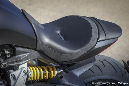 Ducati XDiavel S : selle confortable