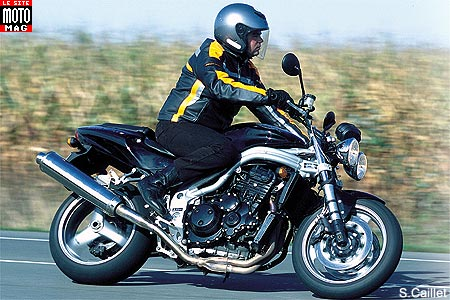 Triumph Speed Triple 955i : partie cycle