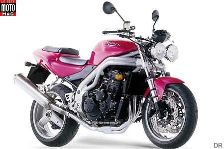 Triumph Speed Triple 955i : rose