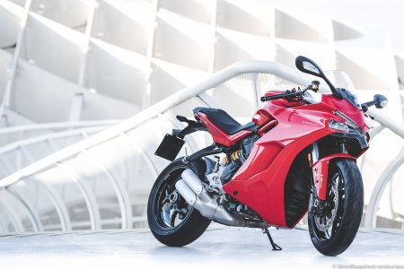 Ducati Supersport : nouvelle ligne