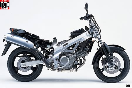 Suzuki 650 DL V Strom : partie cycle