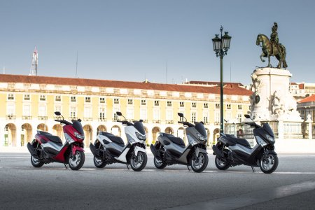Scooter Yamaha 125 Nmax : 4 coloris