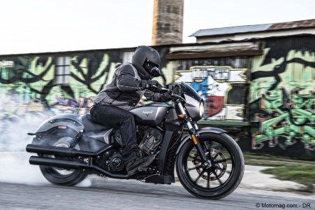 Victory Octane : « muscle bike »