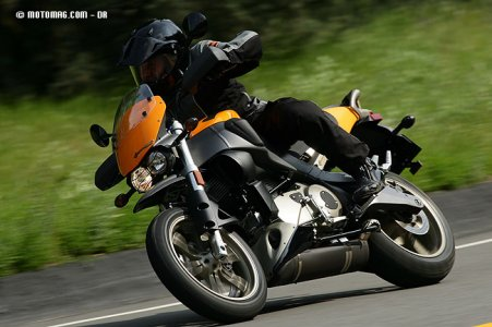 Buell XB12X Ulysses : stabilité