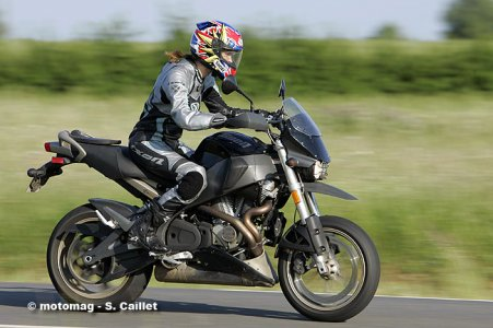 Buell XB12X Ulysses : confort
