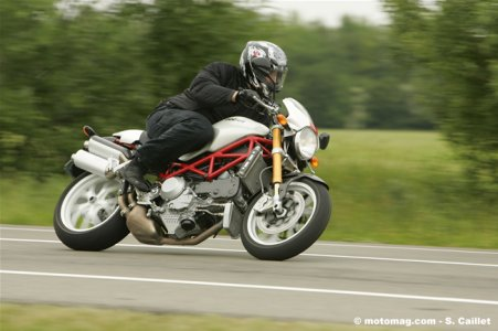 Ducati Monster S4RS : évolution