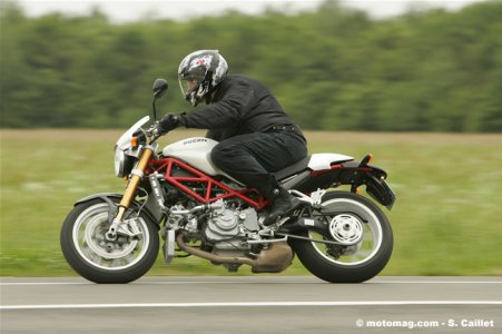 Ducati Monster S4RS : vivacité