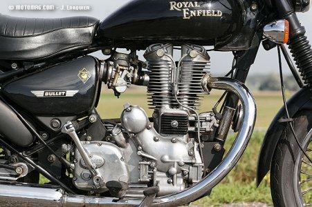 essai royal enfield bullet 500 electra moto magazine leader de l actualit de la moto et du. Black Bedroom Furniture Sets. Home Design Ideas