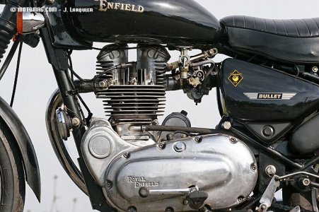Royal Enfield 500 Electra : perf