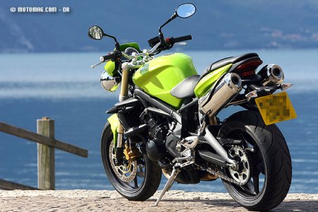 Triumph Street Triple 675 : suspensions