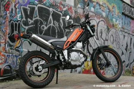 Yamaha 250 Tricker : duo