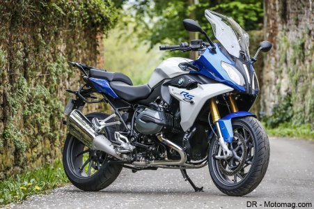 BMW R 1200 RS : beaucoup d'options