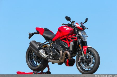 Ducati Monster 1200 R : rouge