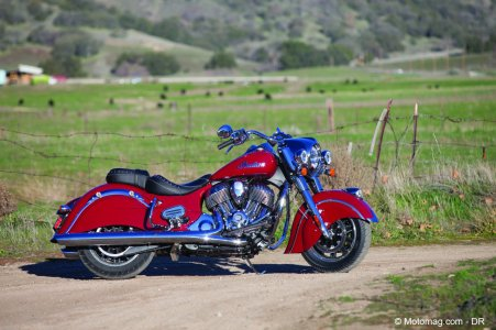 Indian Springfield : … et version bagger