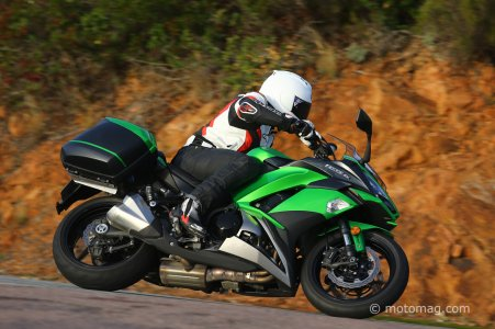Kawasaki Z 1000 SX : position confortable