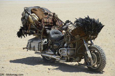 Mad Max Fury Road : Honda Goldwing diligence