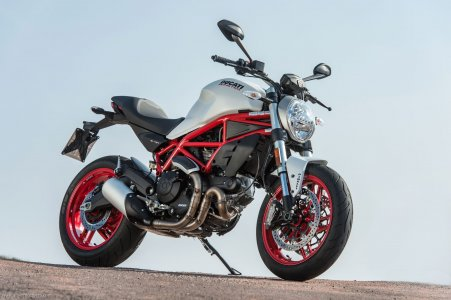Ducati Monster 797 : look originel