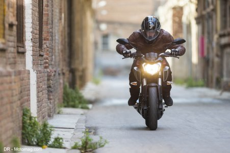 Yamaha MT-125 : air de famille