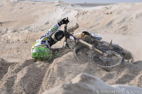 Enduropale du Touquet 2012 : difficile, le sable