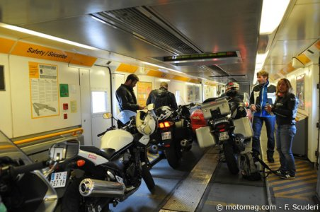 Tourist Trophy 2012 : tunnel sous la Manche