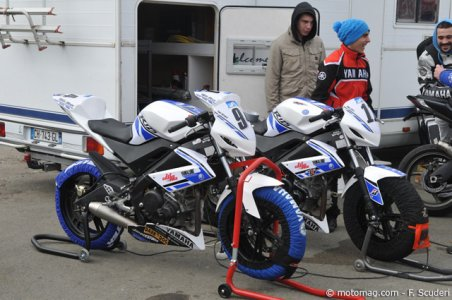 Coupe Yamaha YZF-125R : comme les grands