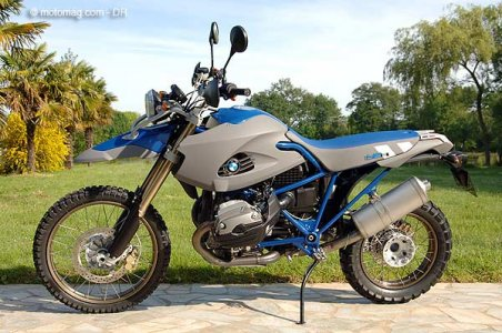 BMW R 1200 GS d'exception