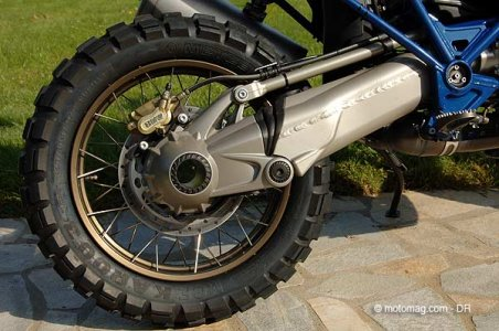 BMW R 1200 GS HP2 : suspensions