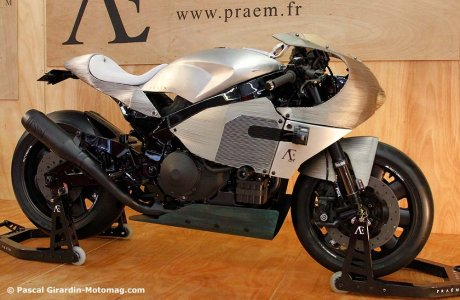 Praëm SP3 au Salon moto de Paris : base Honda 1000 VTR SP 2